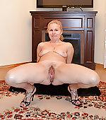 wife legs spreads