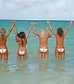tan topless