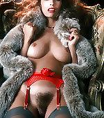 wearing fur