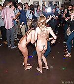 nude public twins
