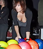 downblouse bowling alley