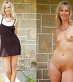 blonde milf on/off