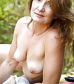 wife mature outdoor