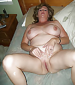 Naked busty wife