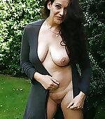 Hot mom outdoor