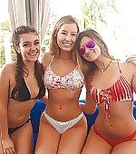 Three sexy friends