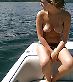 Out on the lake