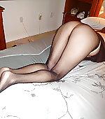My butt in