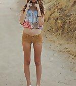Short shorts hippy