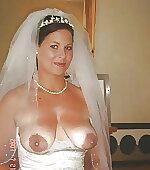 Open front wedding