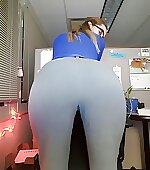 Yoga class friend