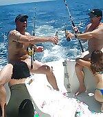 Fishing  beer