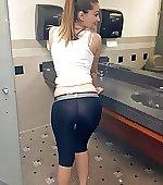 Seethrough leggings