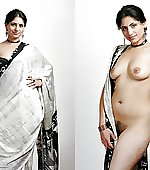 Saree on off pic