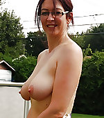 Topless wife