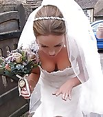 On her wedding