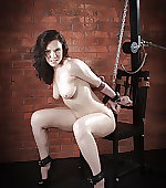 Cuffed and chained